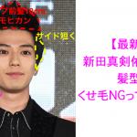 【2019年最新】剛毛にもってこい?新田真剣佑さんの髪型を美容師が解説します!